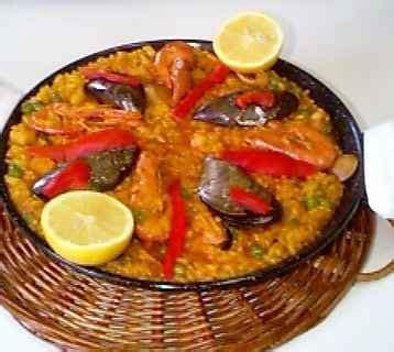 cuisiner du congre recette la paella aux fruits de mer 750g