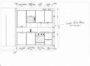 Meuble Avec Plan De Travail : hauteur entre plan de travail et meuble 2017 avec hauteur ~ Dailycaller-alerts.com Idées de Décoration