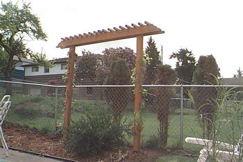 grape vine arbor designs my project grape arbor plans