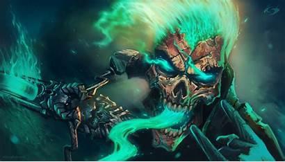Cool Skull Backgrounds Desktop Wallpaperlepi Painting Wallpapersafari