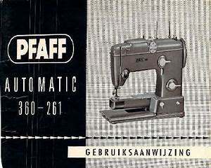 Pfaff Sewing Machine Instruction Manuals Page 2