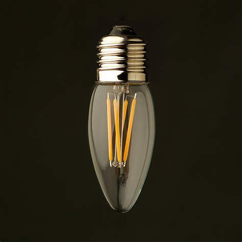 3 watt led 3 watt dimmable filament led e27 candle bulb