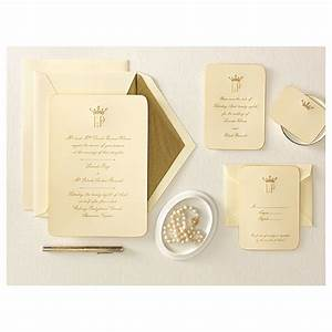 Classic styleinspiration from camelot wedloft for Wedding invitation kits martha stewart