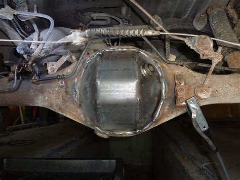 rusted  rear axle housing pics page  yotatech forums