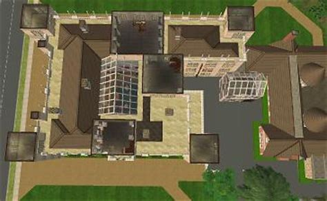 Highclere Castle Floor Plan Upstairs by Mod The Sims Downton Highclere Castle No Cc