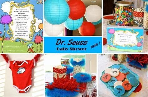 How To Personalize The Dr Seuss Baby Shower Theme Ideas