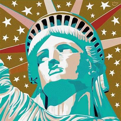 Liberty Statue Galatians Citizenship Digital Lady Animated