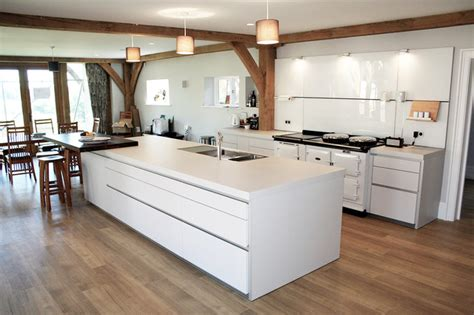aga style ovens in a bulthaup kitchen contemporary kitchen wiltshire by hobsons choice