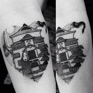 40 Spectacular Spirited Away Tattoos   Tattoodo