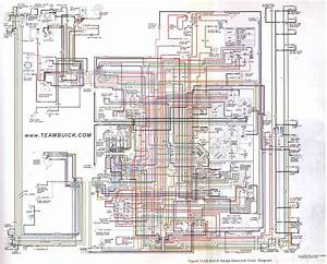 1973 Buick B C E Series Wiring Diagram