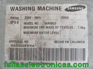 falla error e5 lavadora mabe 174 solucionado fallaselectronicas