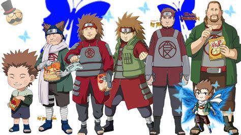 naruto characters akimichi chojis evolution youtube