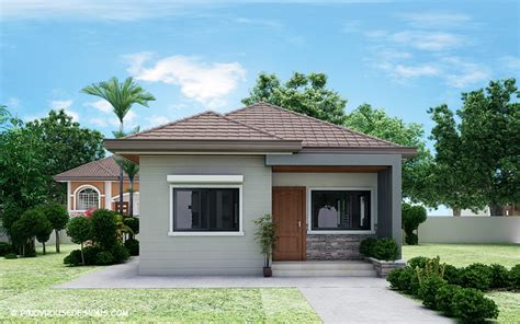 Simple 3-bedroom Bungalow House Design