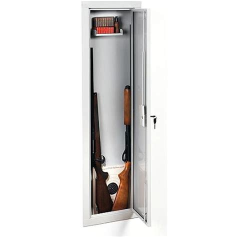 Stack On Gun Cabinets Walmart by Stack On Iwc 55 Length In Wall Gun Storage Cabinet