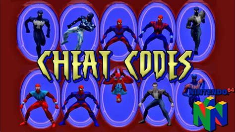 spider man  cheat codes youtube