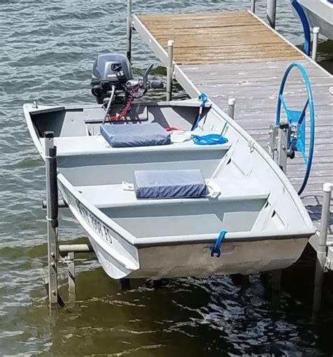 Jon Boat For Sale New York by Alumacraft 1236 12 Jon Boat W 6hp Yamaha Motor For
