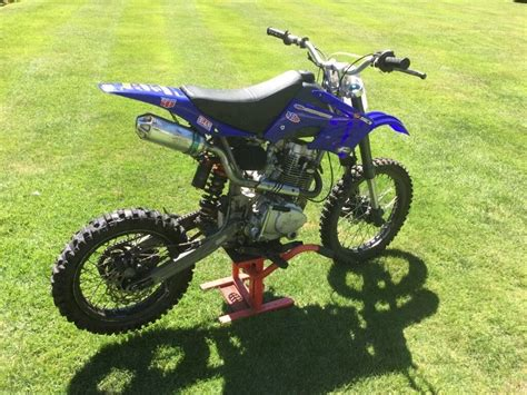 pit bike 250ccm ghost 250cc pit bike big wheel not 125cc in cobham