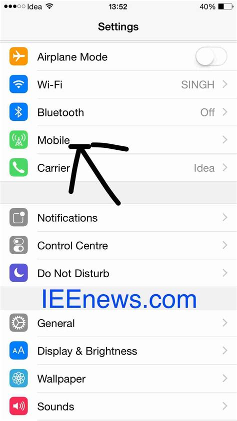 how to check data on iphone how to check data usage on apple iphone and ieenews