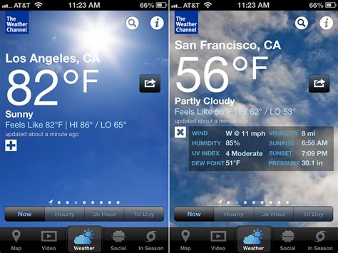 weather channel app for iphone best weather apps 2015