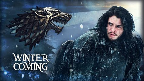 game  thrones jon snow winter  coming  gusseart