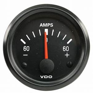Vdo Ammeter    30 Amp    Cockpit Vw Parts