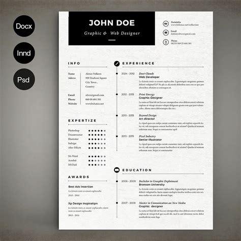 the best cv resume templates 50 exles design shack