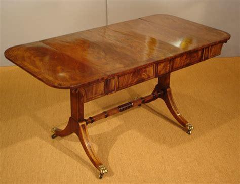 mahogany sofa table antique antique sofa table regency mahogany sofa table