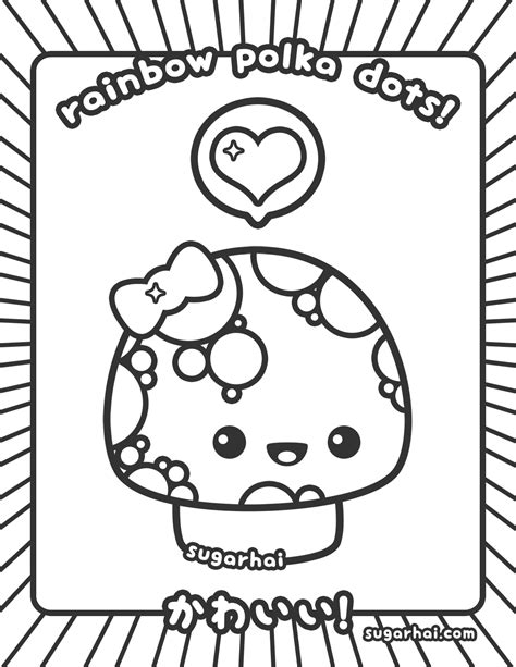 cuisine color drawings kawaii crush coloring pages kawaii food