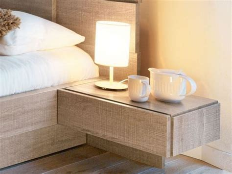 Wall Mounted Nightstand With