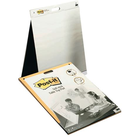 post  table top easel pad    cm white