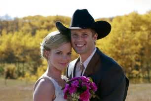 Ashley and Caleb On Heartland
