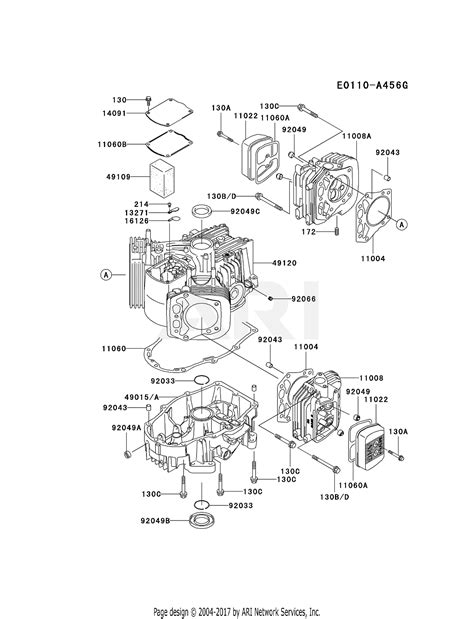 4 Engine Diagram by Kawasaki Fh721v Ds27 4 Stroke Engine Fh721v Parts Diagram