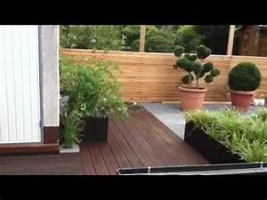 stahlbecken mit wasserwand youtube With französischer balkon mit garten wasserwand