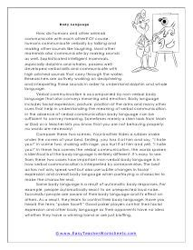 reading comprehension worksheets images