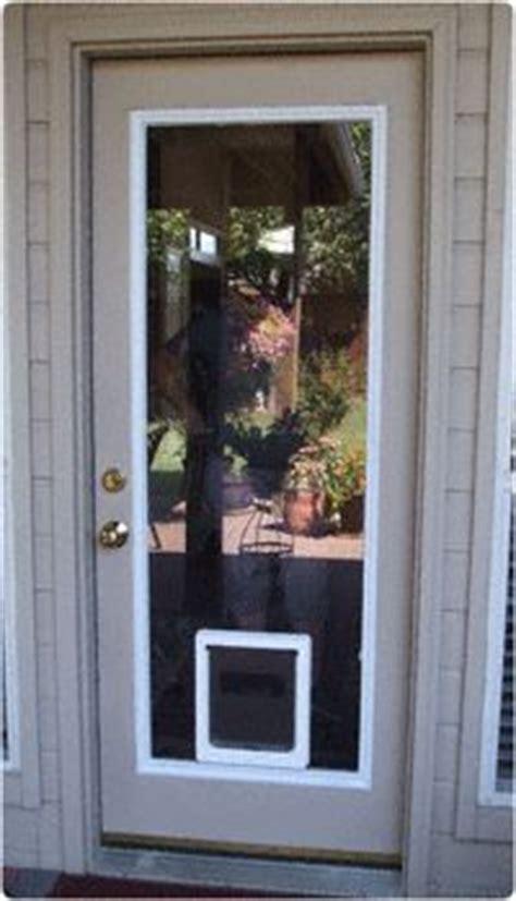 doggie screen door insert custom doors with doggie door jeld wen 174 steel and