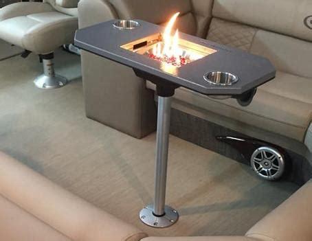 boat table tops for sale pedestal pontoon fireplace pontoon it