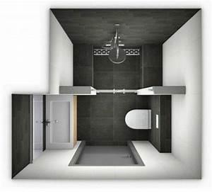 25 best ideas about plan salle de bain on pinterest With petit miroir salle de bain