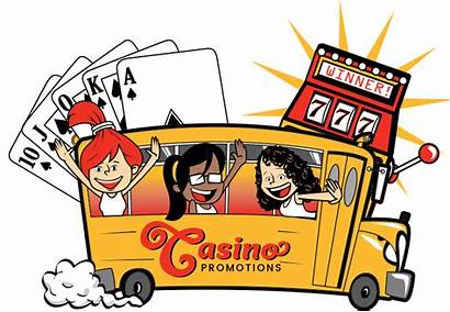 Casino Clipart Bus Trip Transparent Marquee Trips