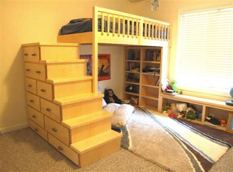 Great Loft Bed Design Ideas For Small Kids Bedrooms
