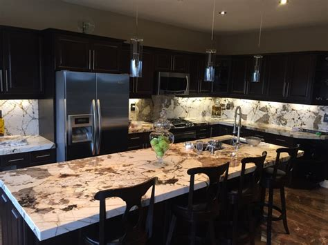 kitchen island countertop blanc du blanc granite kitchen island and backsplash