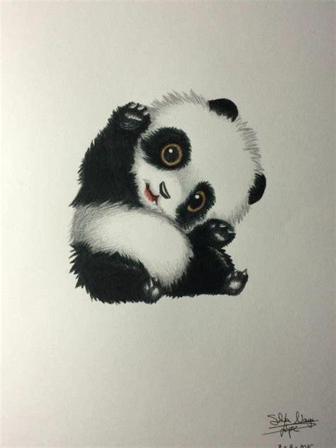 panda bear cute panda drawing cute bear drawings