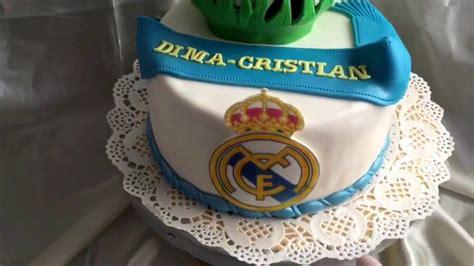 Real Madrid Football Cake