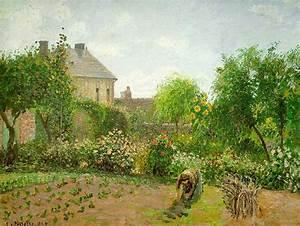 Eragny Art De Vivre : the artist 39 s garden at eragny 1898 camille pissarro ~ Dailycaller-alerts.com Idées de Décoration