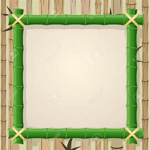 Bamboo frame clipart - Clipground