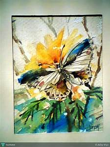 Butterfly / Watercolor - Painting | Jazzy Virgo | Touchtalent