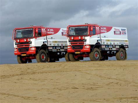 rally truck racing 2002 daf cf rally truck dakar race racing c f offroad 4x4