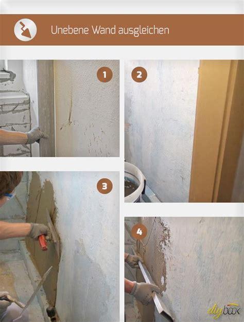 Fliesen Legen Schiefe Wände by Unebene Wand Ausgleichen Renovierung Haus Sanieren