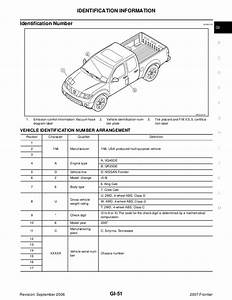 2007 Nissan Frontier Service Repair Manual