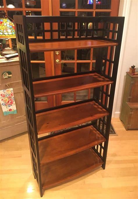 pier  imports folding shelf bookcase  tall  sale