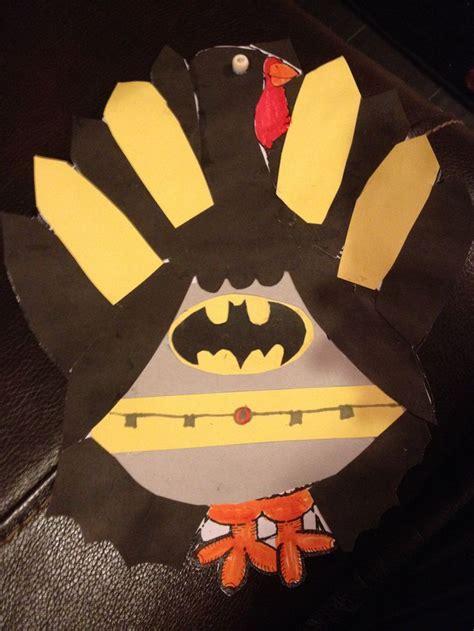 turkey school project  disguised  turkey  batman